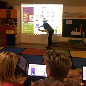 Tablica interaktywna i TIK w przedszkolu